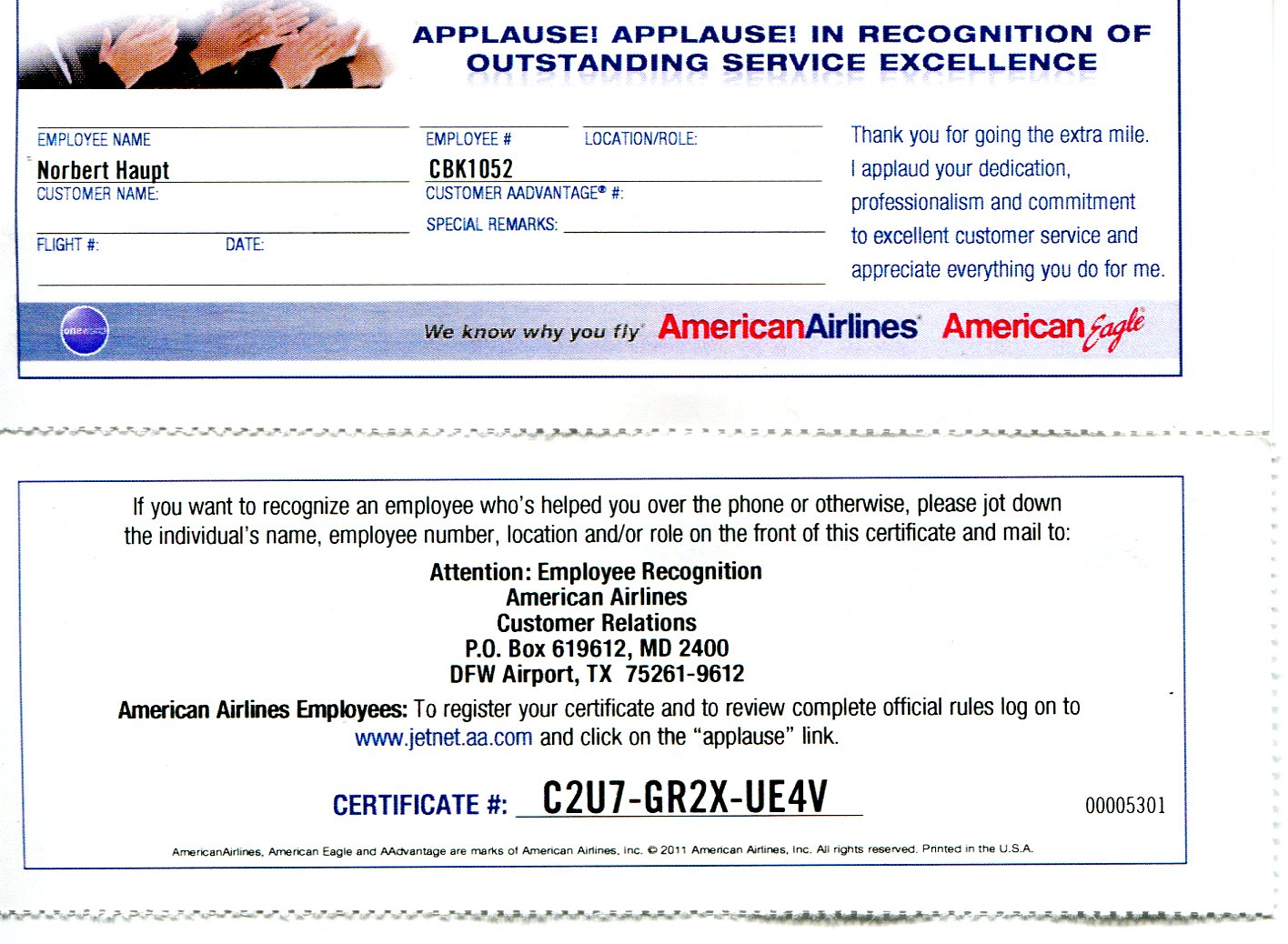 Discount coupons for airlines