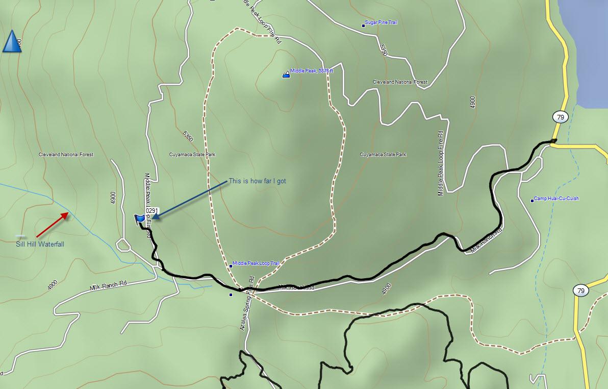 Map Sill Hill