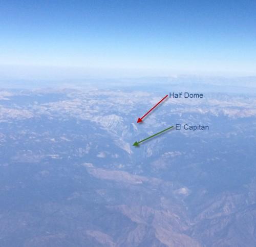 Yosemite from Plane 2