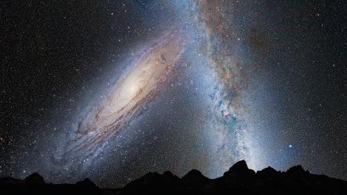 Andromeda Collision
