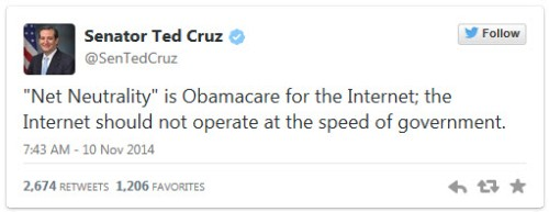 Cruz Tweet