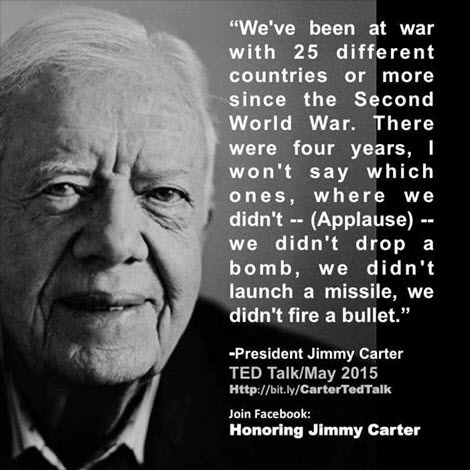 Carter on Wars