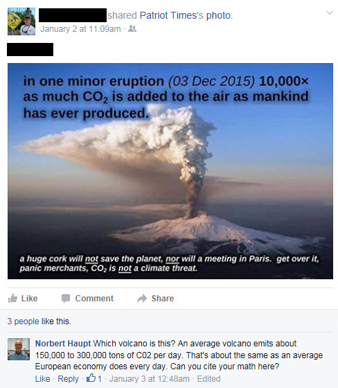 Mt. Etna on Facebook