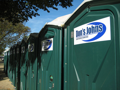 These Are The Port A Potties Being Used For The Donald J. Trump  Presidential Inauguration. What Do You Think, Americau0027s Number One Of  Number Two?